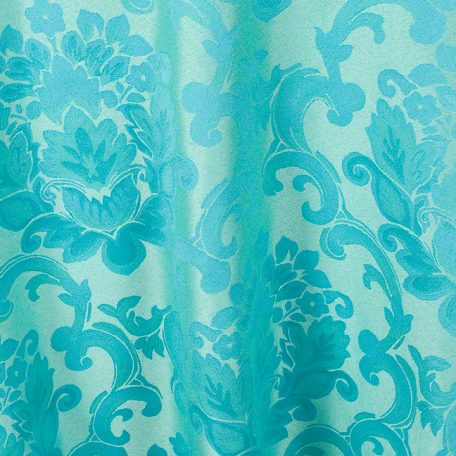 Aqua Beethoven Damask Reverse Side
