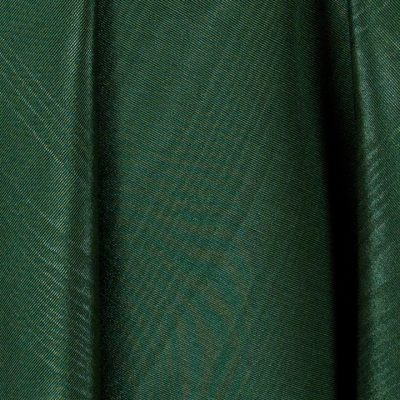 Hunter Green Bengaline Moire