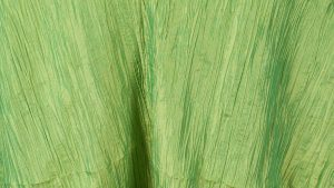 Apple Green Crinkle Taffeta