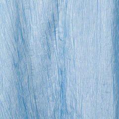 French Blue Crinkle Taffeta