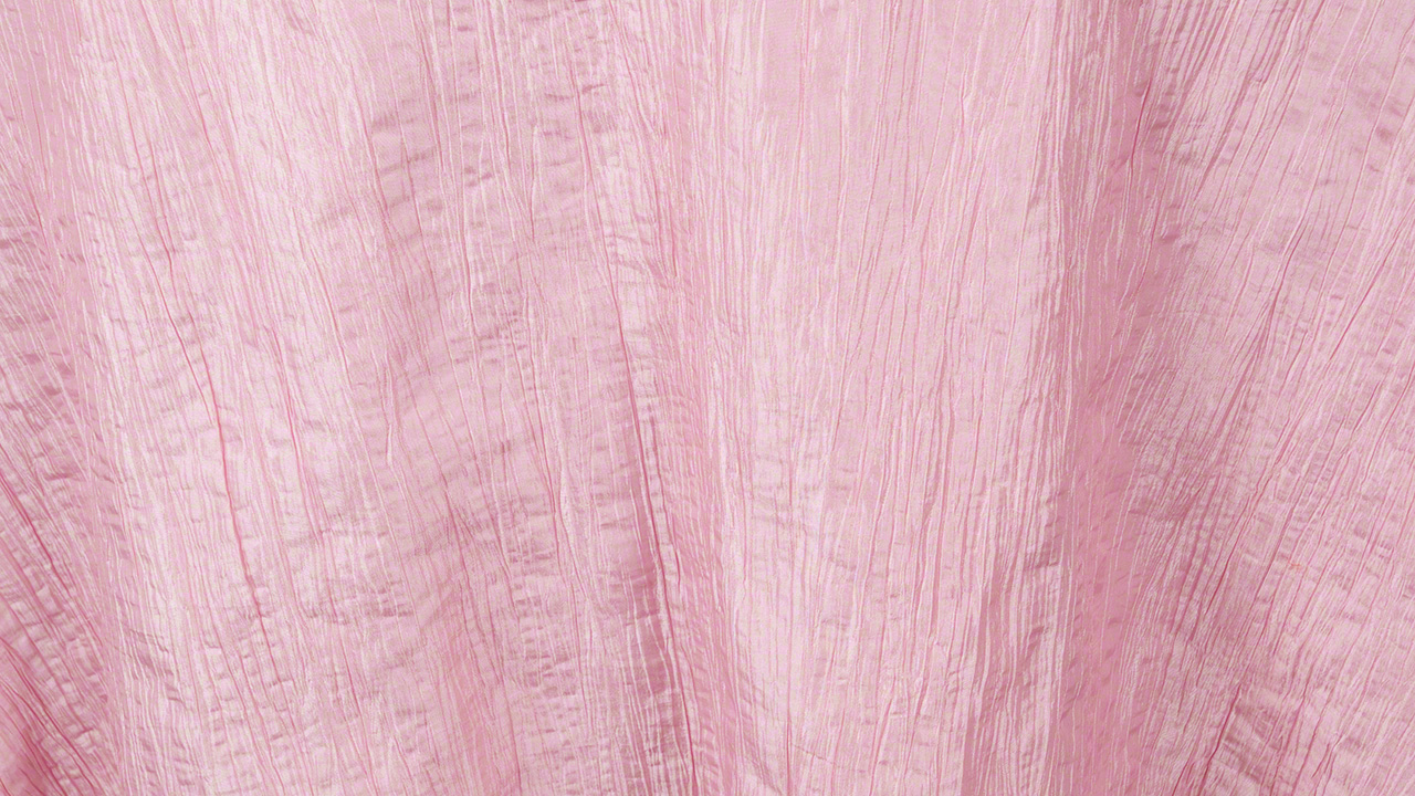 Crinkle Taffeta Light Pink