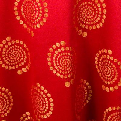 Red Orange Crop Circles