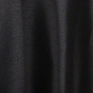 Black Faux Silk