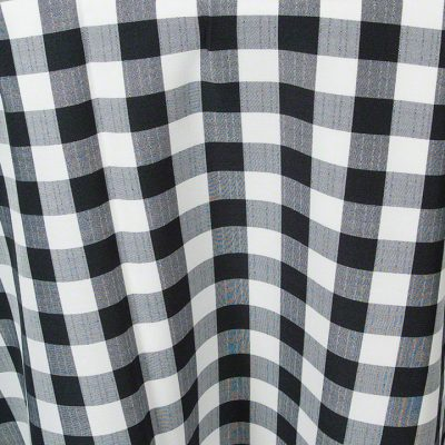 Black Gingham Check