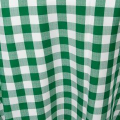 Hunter Green Gingham Check