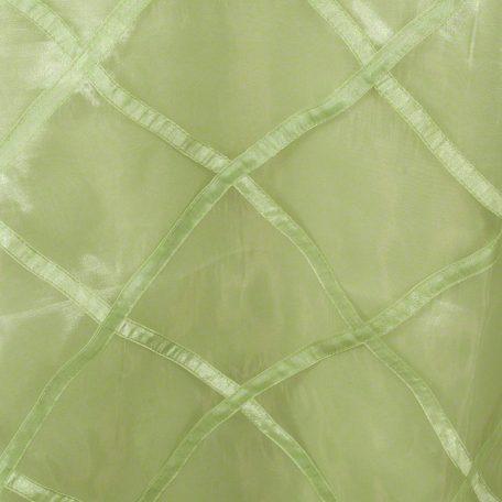 Kiwi Harlequin Sheer over Kiwi Polyester