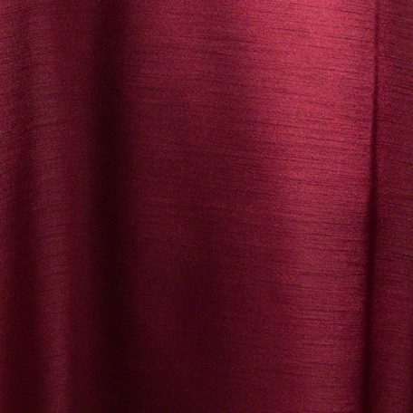 Burgundy Majesty Dupioni Reverse Side