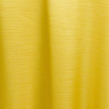 Lemon Yellow Majesty Dupioni Reverse Side