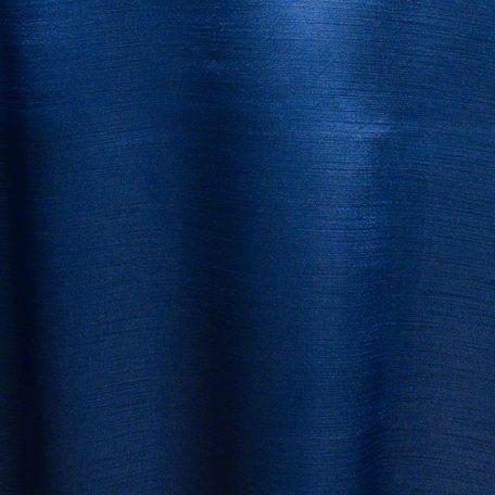 Navy Blue Majesty Dupioni Reverse Side