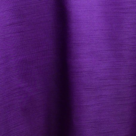 Purple Majesty Dupioni Reverse Side