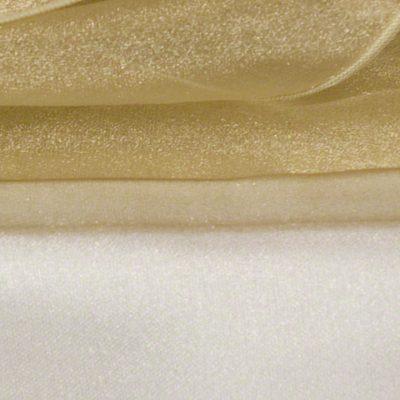 Antique Gold Sheer Organza