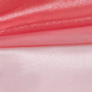 Dusty Rose Silver Sheer Organza