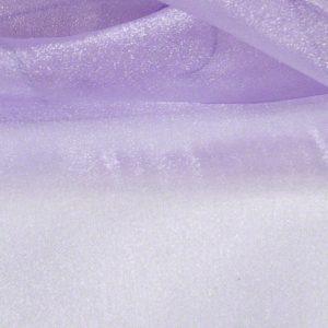 Lilac Sheer Organza