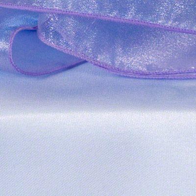 Lilac Pink Sheer Organza