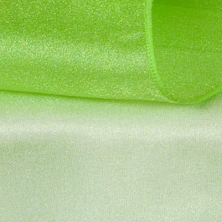 Lime Green Sheer Organza