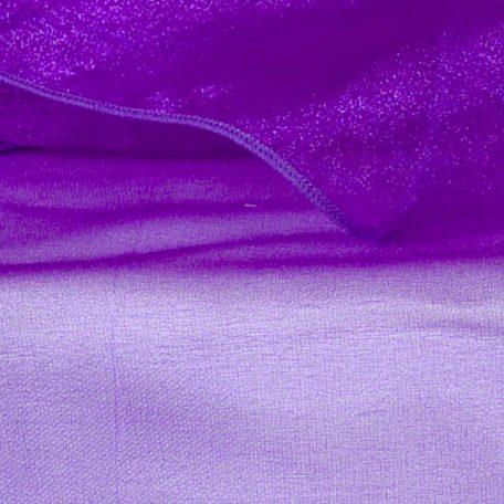Purple Sheer Organza