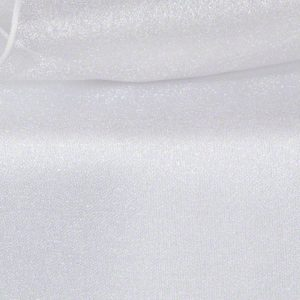 White Sheer Organza