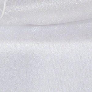 White Sheer Organza