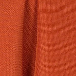Burnt Orange Polyester