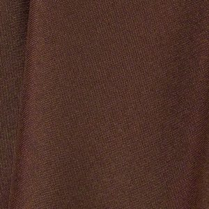 Chocolate Brown Polyester