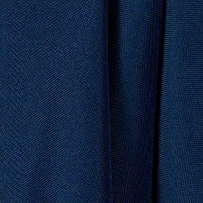 Navy Blue Polyester