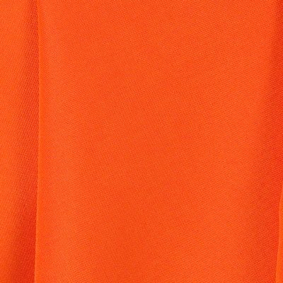 Pumpkin Orange Polyester