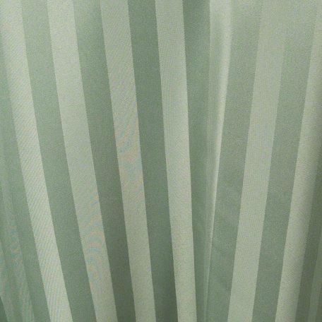 Army Green Satin Stripe