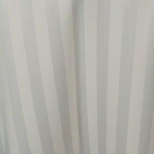 Ivory Satin Stripe