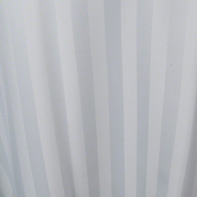 White Satin Stripe