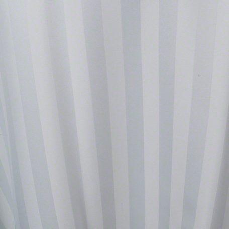 White Satin Stripe