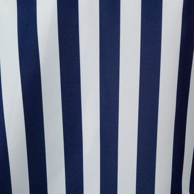 Navy Blue and White Stripe