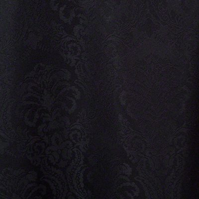 Black Wellington Damask