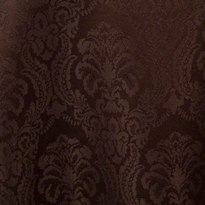 Chocolate Wellington Damask