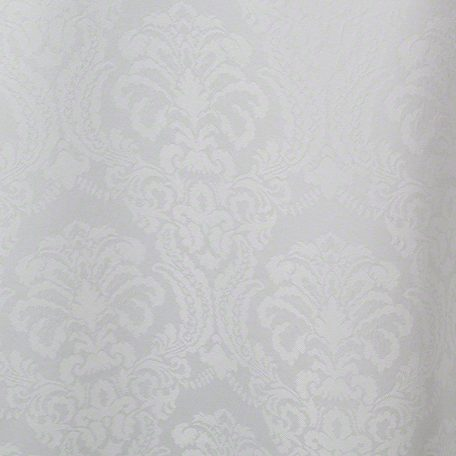 White Wellington Damask