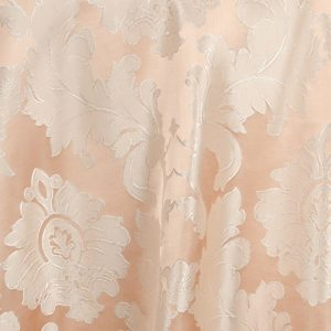 Peach Blush Alexandra Damask