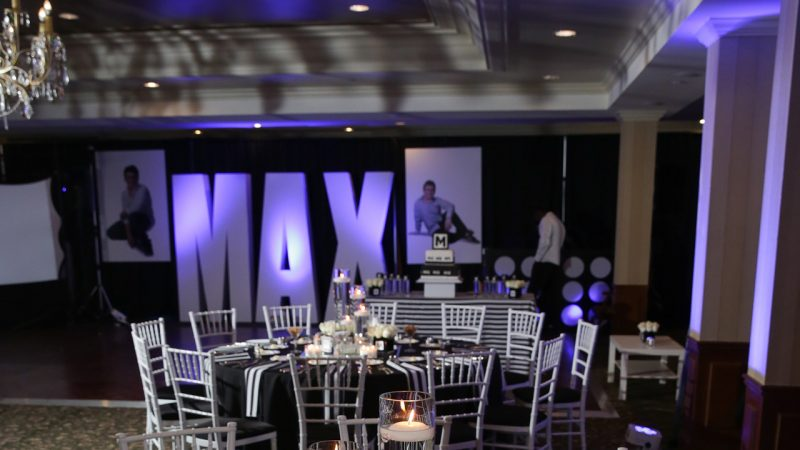 Miller Bar Mitzvah at Tam O'Shanter Country Club in West Bloomfield Michigan