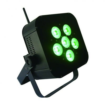 Black Wireless LED Uplight