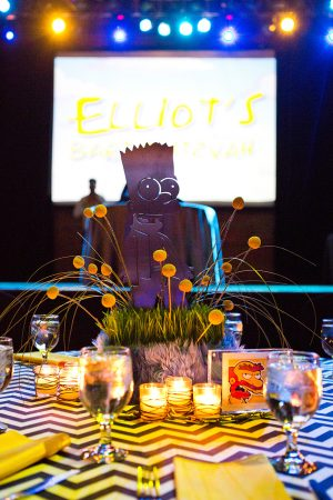 Elliot's Bar Mitzvah at The Crofoot Ballroom in Pontiac Michigan