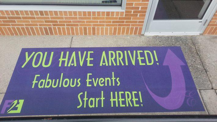 Fabulous Events Fathead Street Grip