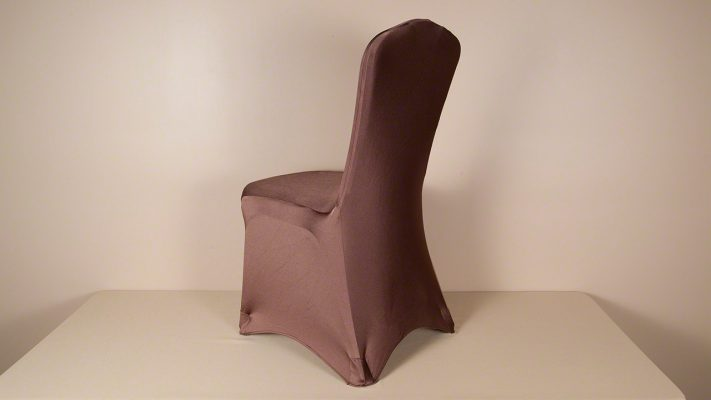 Chocolate Brown Spandex Chair Cover