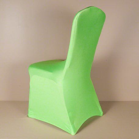 Neon Green Spandex Chair Cover