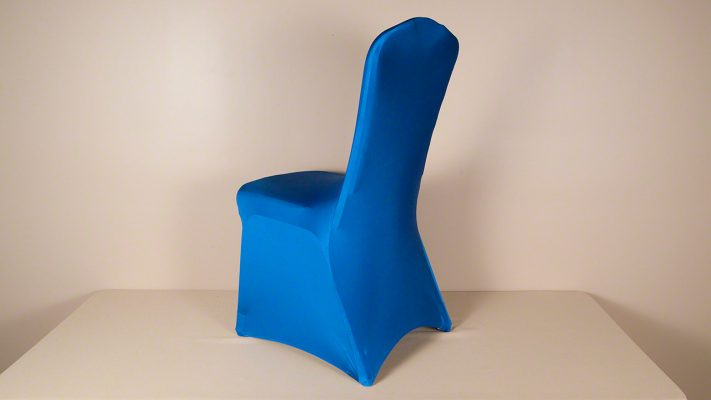 Royal Blue Spandex Chair Cover