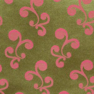 Casablanca Mini Swirl Pink with Lime
