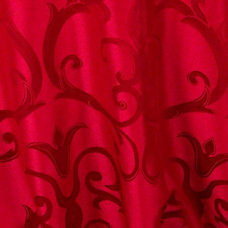 Lipstick Red Versailles Chopin Damask Reverse Side