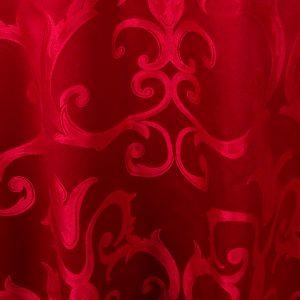 Lipstick Red Versailles Chopin Damask