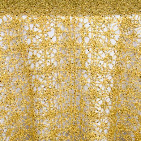 Gold Bling over White