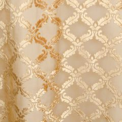Gold Diva Burnout Sheer