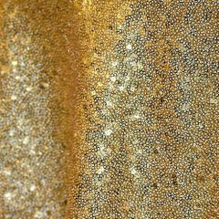 Gold Sequins Table Overlay
