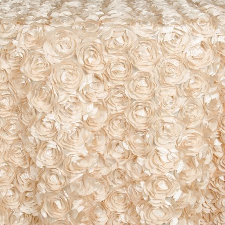 Champagne Loveable Table Linen, Runners and Overlays