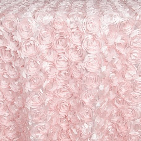 Pink Loveable Table Linen, Runners and Overlays